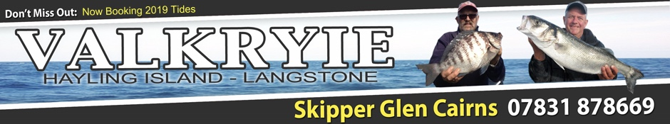 Valkyrie Charters - Langstone, Hayling Island.
